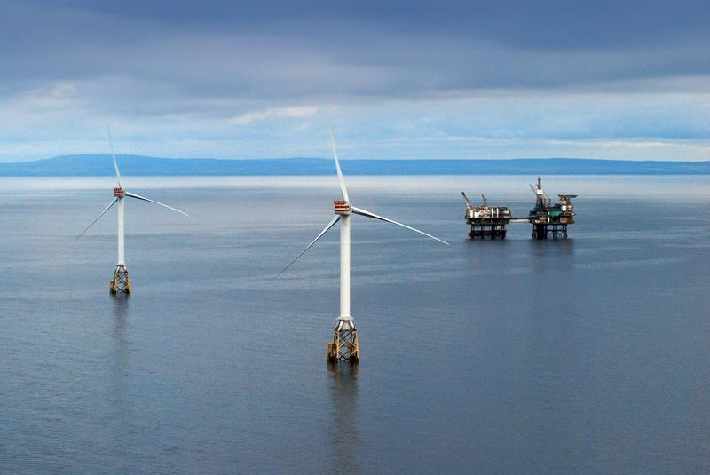 (Foto: Beatrice offshore wind farm)